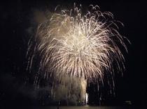 芦ノ湖の花火