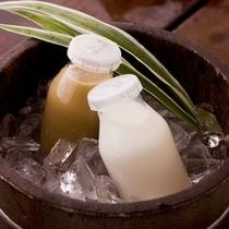 ■温泉の後は冷たい牛乳&コーヒー牛乳♪