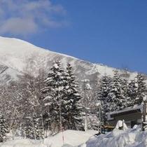*雪の羊蹄山②