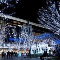 【クリスマスイルミネーション】提供:福岡市