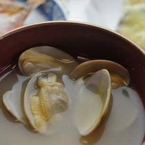 夕食 お味噌汁