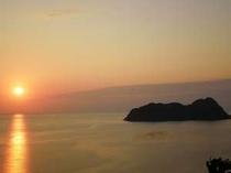 常神半島に落ちる夕日は綺麗!宿の道中にて