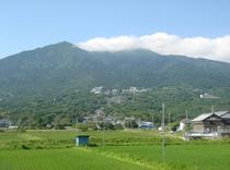 初夏の筑波山