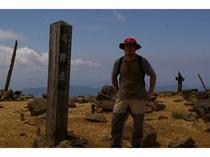 熊野岳山頂1840m