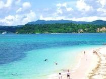 ビーチ(近景)
