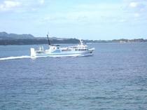 離島航路のフェリー