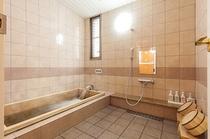 桧のお風呂