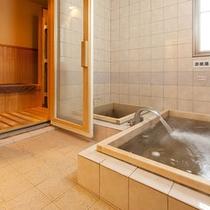 サウナ・源泉風呂・水風呂