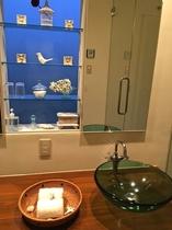 バスルームの飾り棚