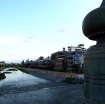 鴨川〜三条大橋から〜