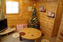 冬はクリスマスムード満点!