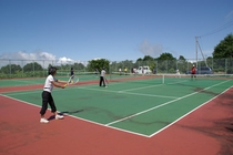 当館管理のテニスコート