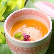 2015夏会席 旬魚!鱧の冷たい茶碗蒸し グレードアップ