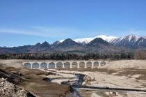 タウシュベツ川橋梁 2011.05.12
