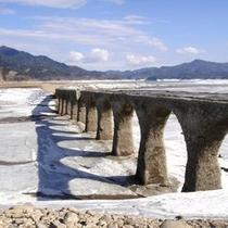 タウシュベツ川橋梁(2012年4月)