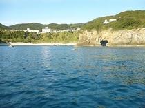 釣り場からの風景