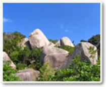 唐人駄馬遺跡の巨石群