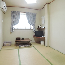 *【和室6畳一例】バス・トイレ付の和室です