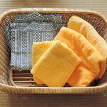 *【客室アメニティ】浴衣やタオルをご用意