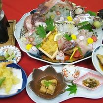 【活造りコース】当館自慢の生簀からそのまま調理☆鮮度が違います!