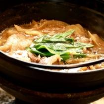 自家製味噌をつかった 猪鍋