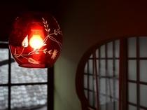 切子の館内照明