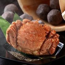 ◆毛ガニ石子鍋・茹で上がり