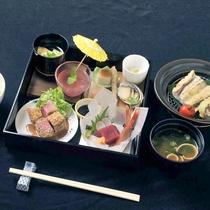 【Aコース】和定食!当館のスタンダード料理になります。