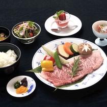 【Bコース】サーロインステーキセット!
