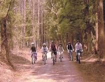 みんなでサイクリング!