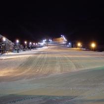 ■白馬五竜スキー場ととおみゲレンデでは期間中ナイター営業してます
