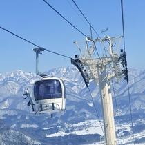 ■八方尾根スキー場ゴンドラ