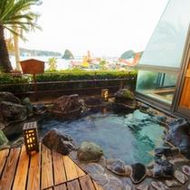 ■客室露天風呂■