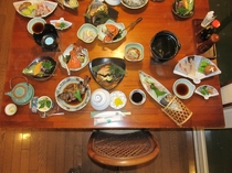 瀬戸内和食懐石料理例