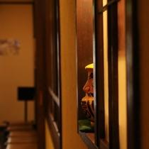 草津温泉の中心《 湯畑 》を眺める宿【平の家】