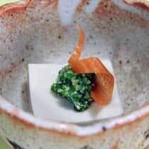 スタンダード夕食 小鉢(手造り胡麻豆腐)イメージ