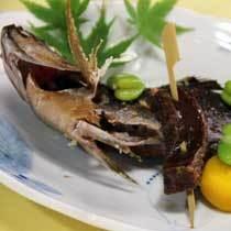 スタンダード夕食 焼き魚イメージ(イサキ塩焼き)