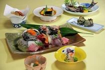 【ご夕食 一例】・・・天然地魚お造り盛り合わせプラン