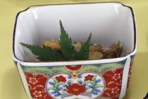 【ご朝食 一例】・・・南伊豆の田舎風朝ごはん ≪野菜の炊き合わせ≫
