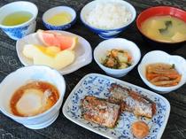 【朝食の一例】和定食をご用意いたします