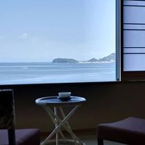 ≪和室10帖≫大阪湾や紀淡海峡をパノラマに一望する