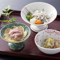 素材そのものが持つ「味」を引き出した料理の数々≪料理イメージ≫