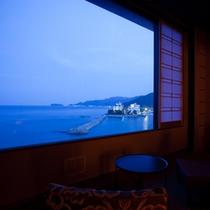 海の見える和風ツインルーム(39平米)