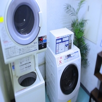 ◎コイン式洗濯機・乾燥機は24時間利用可能◎