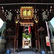 ◎山笠のメインステージ、櫛田神社◎