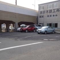 ★ホテル第2駐車場★11台駐車可能。駐車は2T車まで。