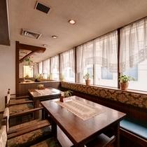 *<レストラン>軽朝食はこちらでお召し上がりいただきます。