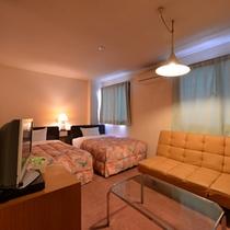 *【ツインルーム】ゆったりとした快適空間。◎全室ウォシュレットトイレ付