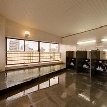 *<男性専用展望風呂>最上階からの景色を楽しみながらリフレッシュして頂けます♪