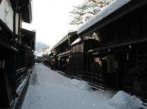 古い町並(冬)